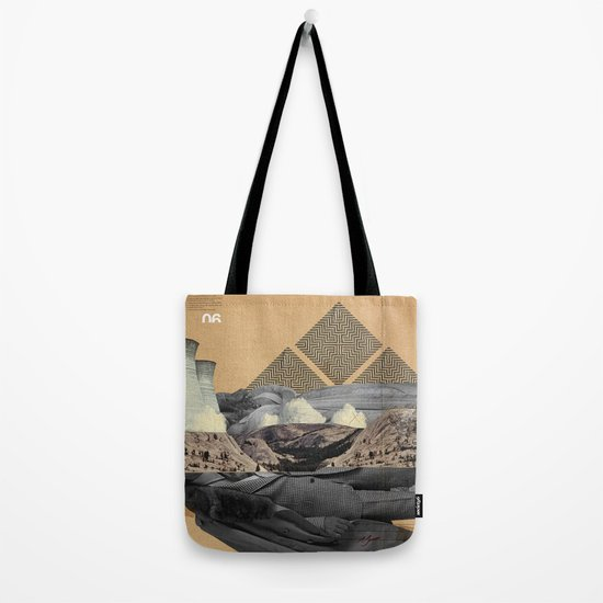 The future a time to reminisce. (mixed media) Tote Bag