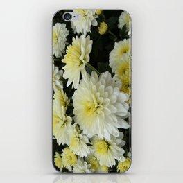 White 'Mums iPhone Skin