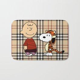 Snoopy and charli Bath Mat