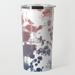 Ombre fade tie dye pastel trendy color way throwback retro palette 80s 90s style Travel Mug