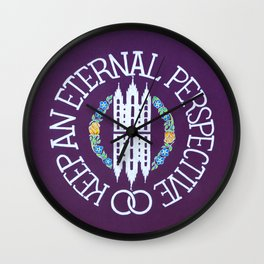 Eternal Perspective Wall Clock