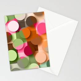 dots & squares Stationery Cards