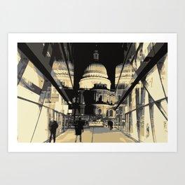 St Pauls Cathedral Art Print