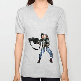 Ellen Ripley from Alien Unisex V-Neck