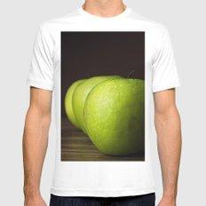 Little Green apples White Mens Fitted Tee MEDIUM