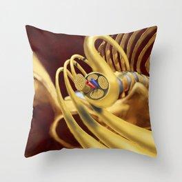 Spinal Nerves Throw Pillow
