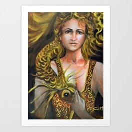 a Norn Art Print