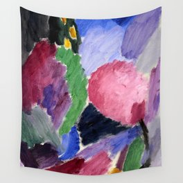"""Alexej von Jawlensky """"Large Variation - A Blowing Gale"""" 1916 Wall Tapestry"""