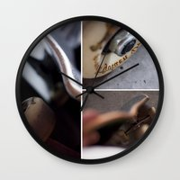 skate Wall Clocks featuring Skate by TJAguilar Photos