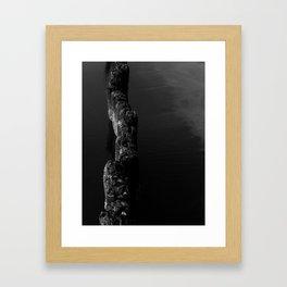 Black Sea Framed Art Print