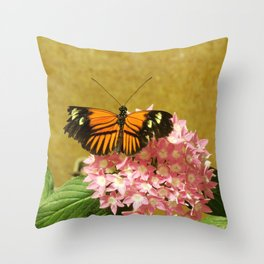 Fire Wings Throw Pillow