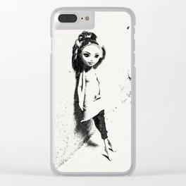 Urban Girl Clear iPhone Case