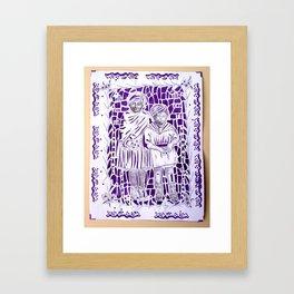 bello con te Framed Art Print