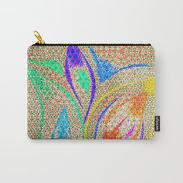 Colorful Lotus flower - uma releitura Carry-All Pouch