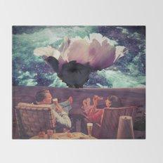 Flowering Throw Blanket