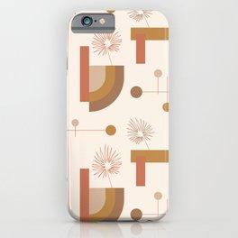 Balanced Mid Mod Desert Pattern iPhone Case