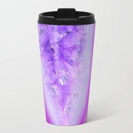Magically Purple Agate Druzy Travel Mug