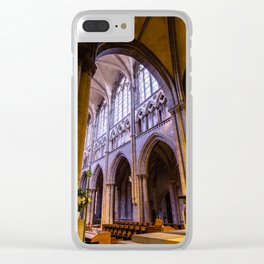 Saint Vincent Cathedral of Saint Malo Clear iPhone Case