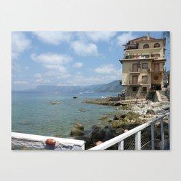 Scilla, Italy Canvas Print