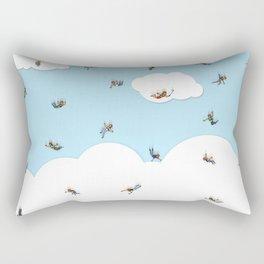 Sky Diving Rectangular Pillow