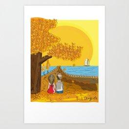 port love Art Print
