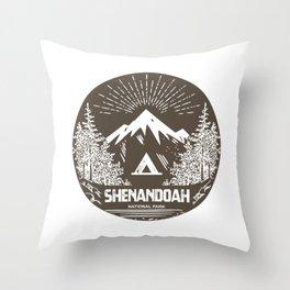 Shenandoah National Park Throw Pillow