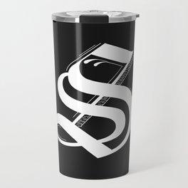 Letter S Travel Mug