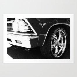 Drive safe Art Print