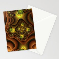 Abstract Insects, Fantasy Fractal Stationery Cards