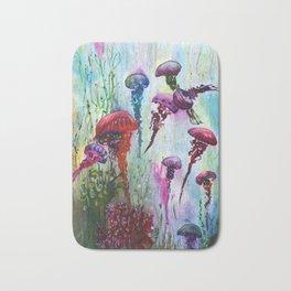 jolly jellyfish Bath Mat