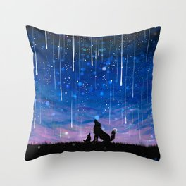 Rewrite the Stars Throw Pillow