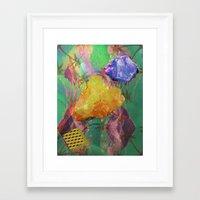 minerals Framed Art Prints featuring Minerals, Minerals by Paula Morales