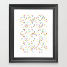ditsy pop Framed Art Print