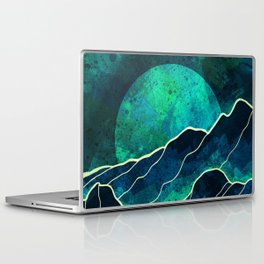 As a new moon rises Laptop & iPad Skin
