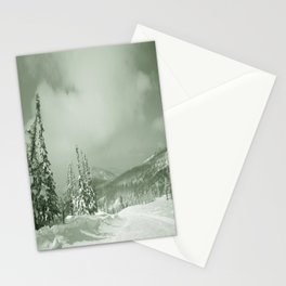 Winter day3 Stationery Cards