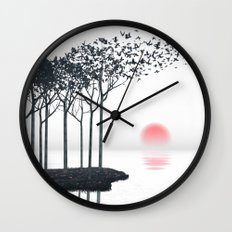 Aki Wall Clock