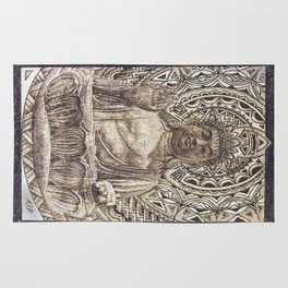 Turiya Bodhisattva  Rug