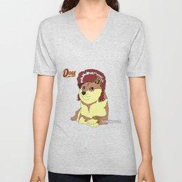 Diamond Doge (sans Comic Sans) Unisex V-Neck