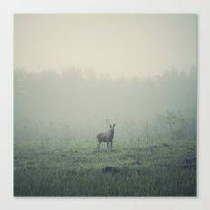 Mamma moose Canvas Print