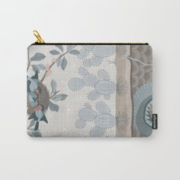 Birds And Snake Carry-All Pouch