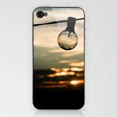 Unlit Sunset.  iPhone & iPod Skin