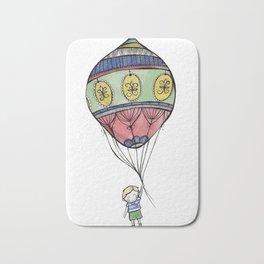 Boy with a Balloon Bath Mat