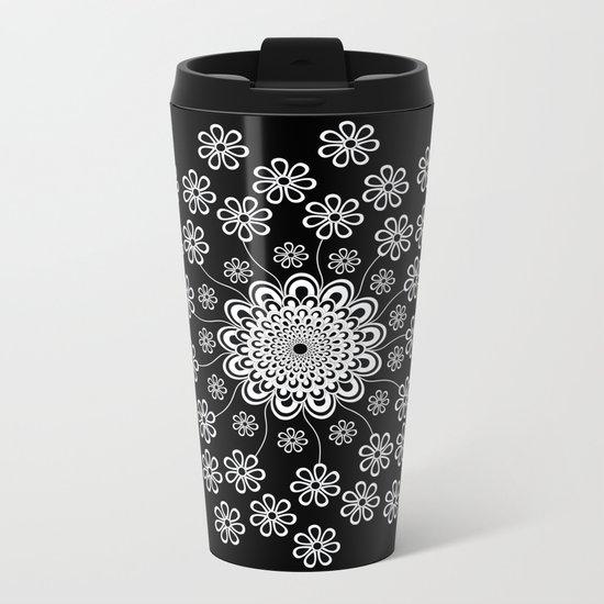 Mandala 8 Metal Travel Mug