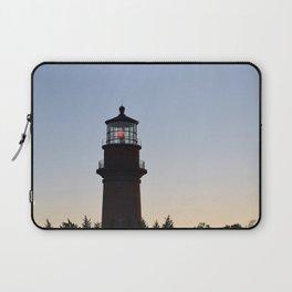 Aquinnah Lighthouse at Sunset Laptop Sleeve