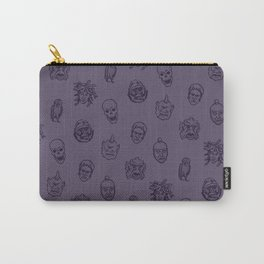 Little Monsters (purple) Carry-All Pouch