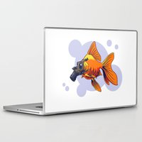 breathe Laptop & iPad Skins featuring Breathe by rob art | simple