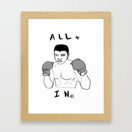 Ali-Boombyeyay Framed Art Print
