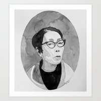 Yuri Kochiyama Watercolor Art Print