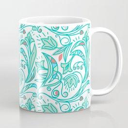 Green Flora Coffee Mug