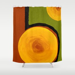 Emerald Five Shower Curtain